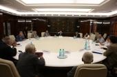 Întîlnirea consiliului de conducere al ANUC cu premierul Emil Boc şi reprezentanţi ai guvernului